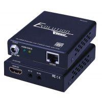 VANCO Ultra Slim HDMI Extender 4K/60Hz HDR PoE 130ft/40m  HDCP2.2 1080p 165ft/50m Bi-directional IR