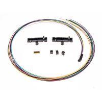 Cleerline 4 Strand Buffer Tube/Ribbon Fan-Out Kit 25