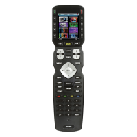 IR/RF Hard Button Remote Control with Color LCD