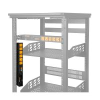 WattBox® 800 Series IP Power Conditioner   6 Individually Controlled & Metered Outlets